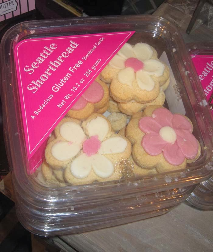 Seattle Shortbread's gluten-free cookies are unbelievably tasty!