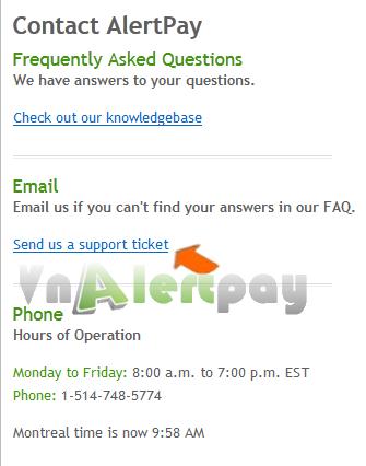 Hướng dẫn đăng ký và verified tài khoản Alertpay