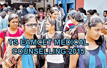 TS Eamcet Medical Counselling Schedule 2015, TS Eamcet 2015 MBBS/BDS Counselling Dates Rank wise list today, Telangana Eamcet Medical Web Options Rank Wise, TS Eamcet Medical 2015 Counselling Centers List, Telangana Eamcet 2015 Medical Seat Allotment, TS Eamcet Medical MBBS BDS Counselling List Today