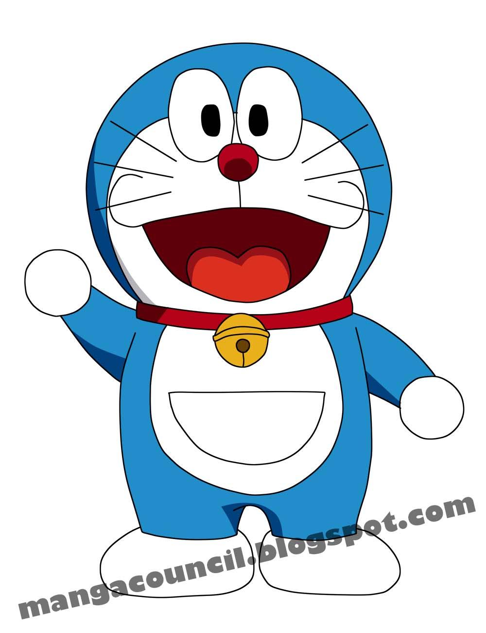 Cara Menggambar Anime Doraemon dengan Cepat | Manga Council