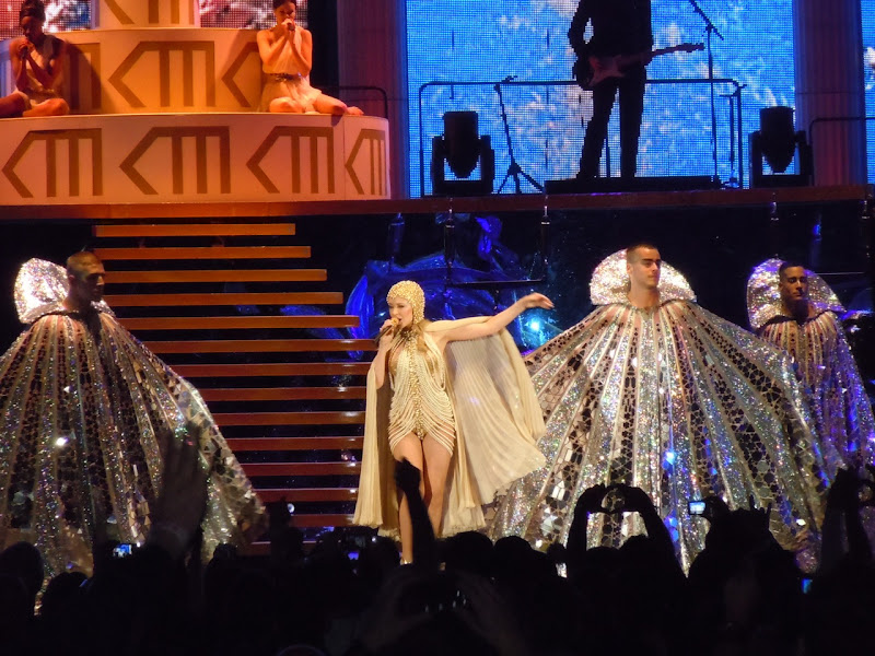 Kylie Aphrodite concert Hollywood Bowl