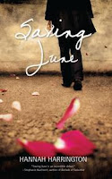 book cover of Saving June by Hannah Harrington