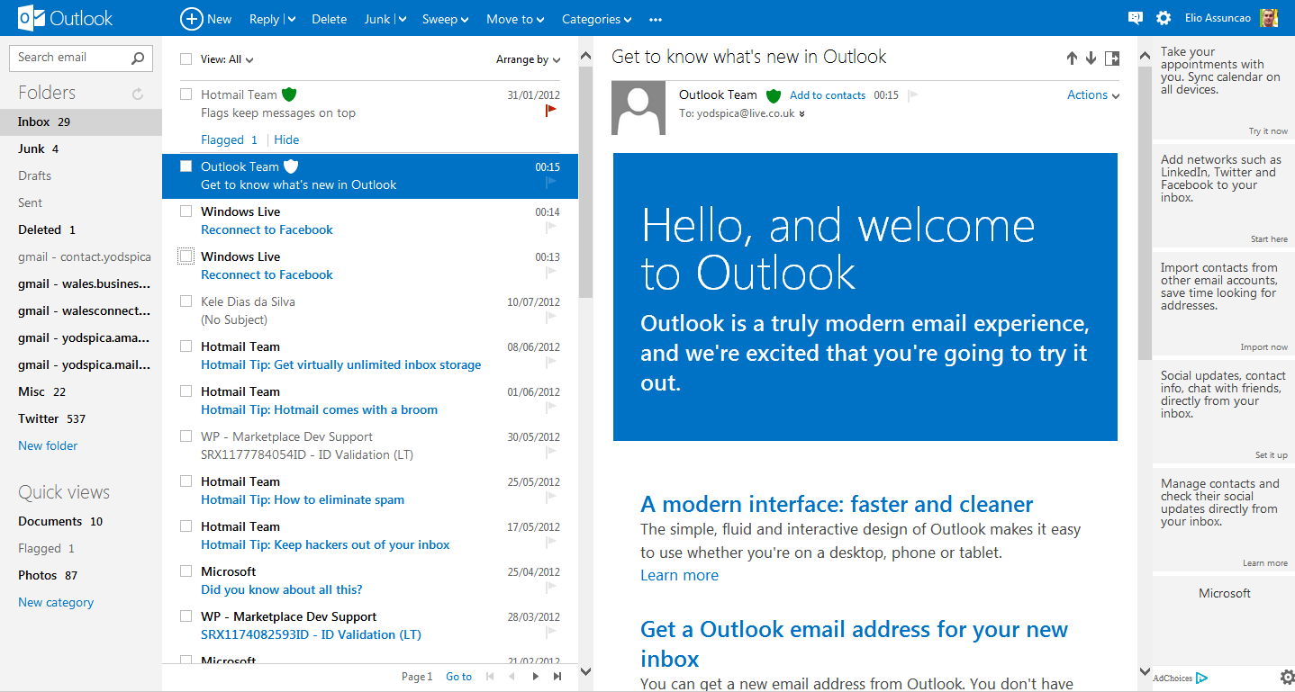 How to Upgrade From Hotmail To New Outlook.com