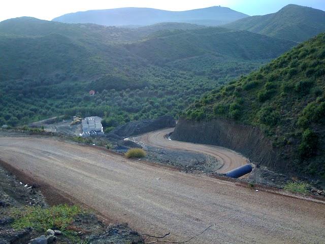 Επίσκεψη Τατούλη σε ΧΑΔΑ Φιλιατρών, Φράγμα και εθνικό δρόμο προς Ρωμανού