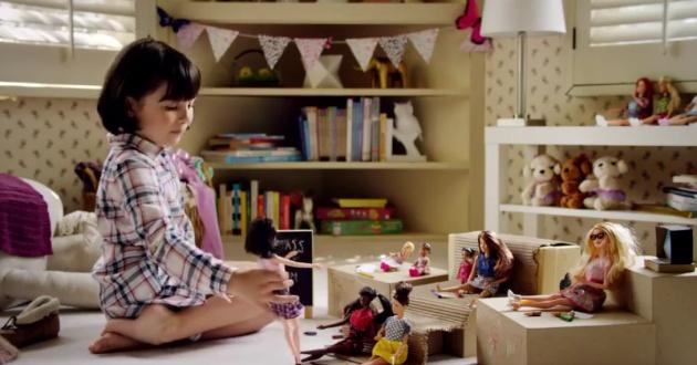 Green Pear Diaries, publicidad, spot publicitario, Barbie, Imagina las posibilidades