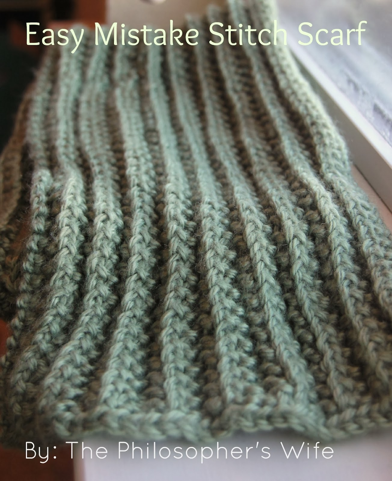 Knitting Mistakes Extra Stitches : Easy Mistake Stitch Scarf The Purl Bee Knitting # 2016 Car Release Date