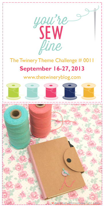 The Twinery You're Sew Fine Challenge | Monika Wright