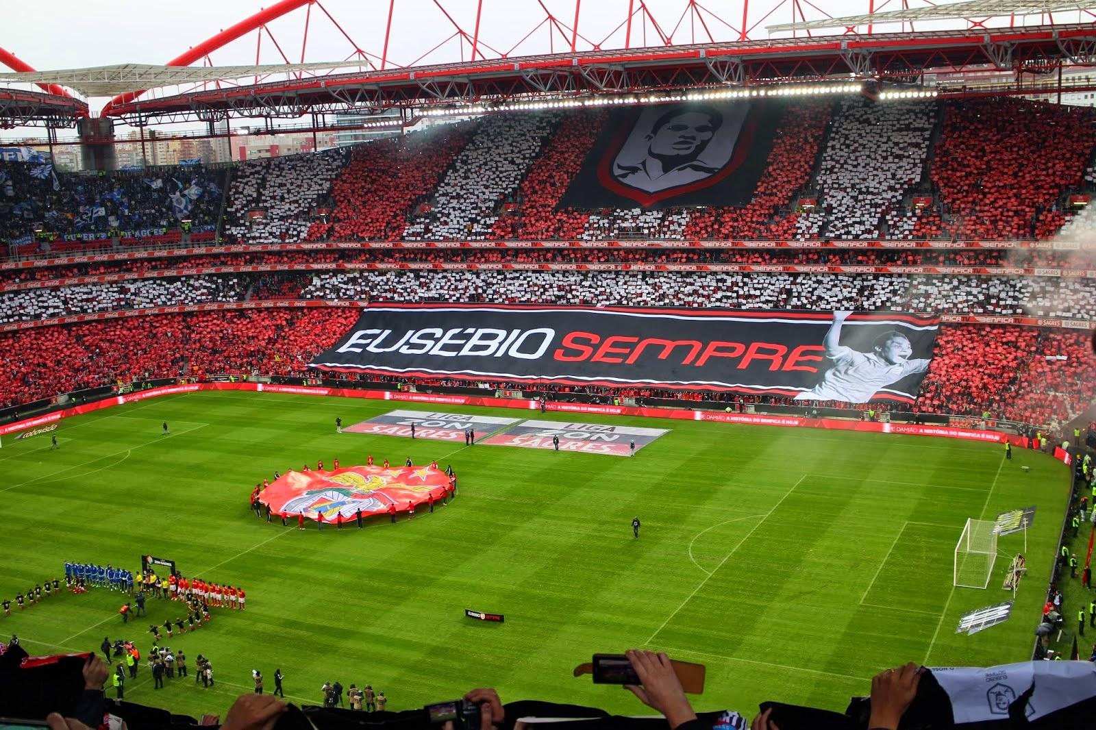 Deixa passar o maior de portugal saudades de ver um jogo for Piso 0 inferior estadio da luz