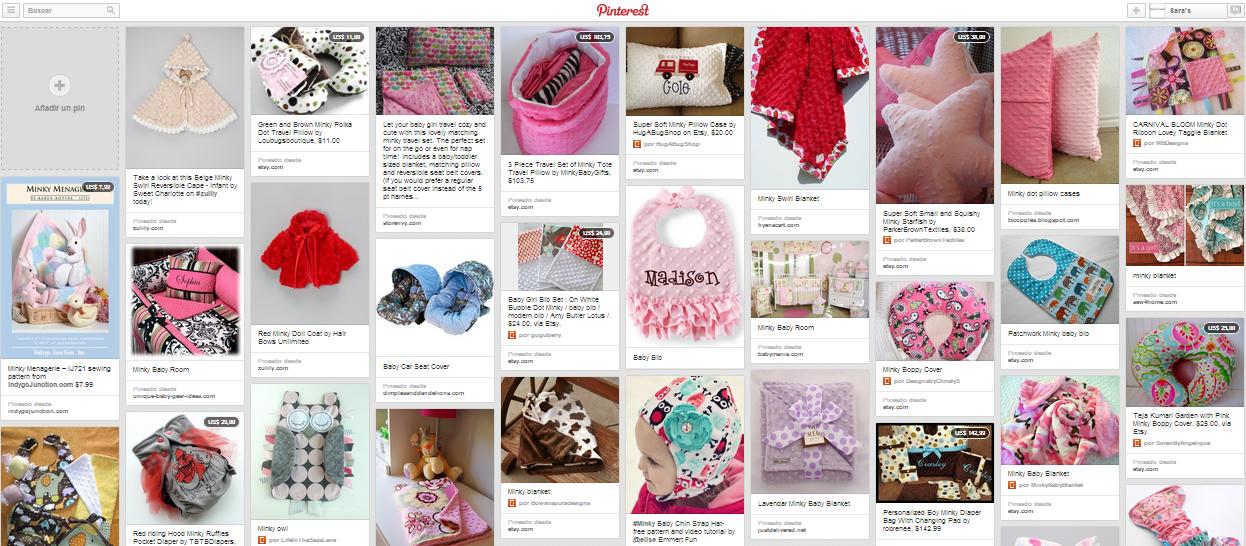 11 Trucos para coser con tela minky ~ Sara\'s Code: Blog de Costura + DIY