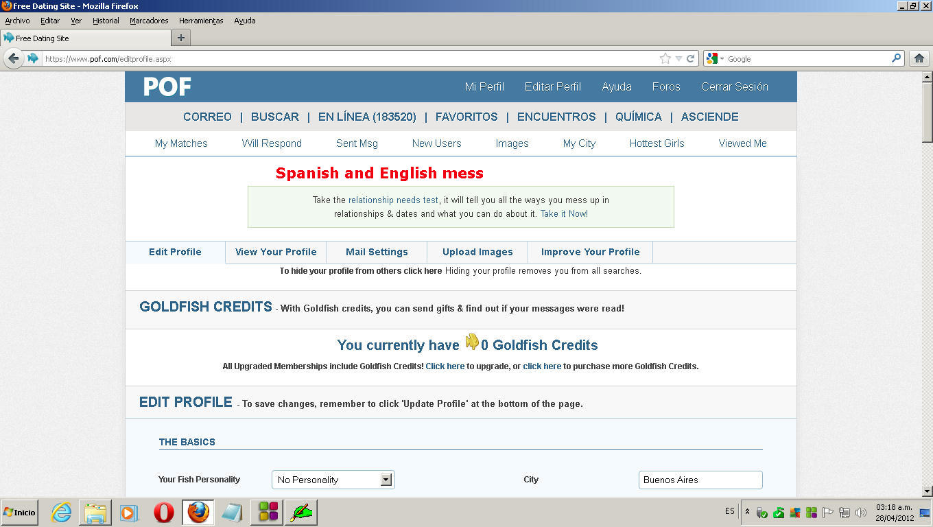 free dating espanol Translate dating see 3 authoritative translations of dating in spanish with example sentences, phrases and audio pronunciations.