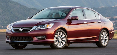 2013 Honda Accord burgundy