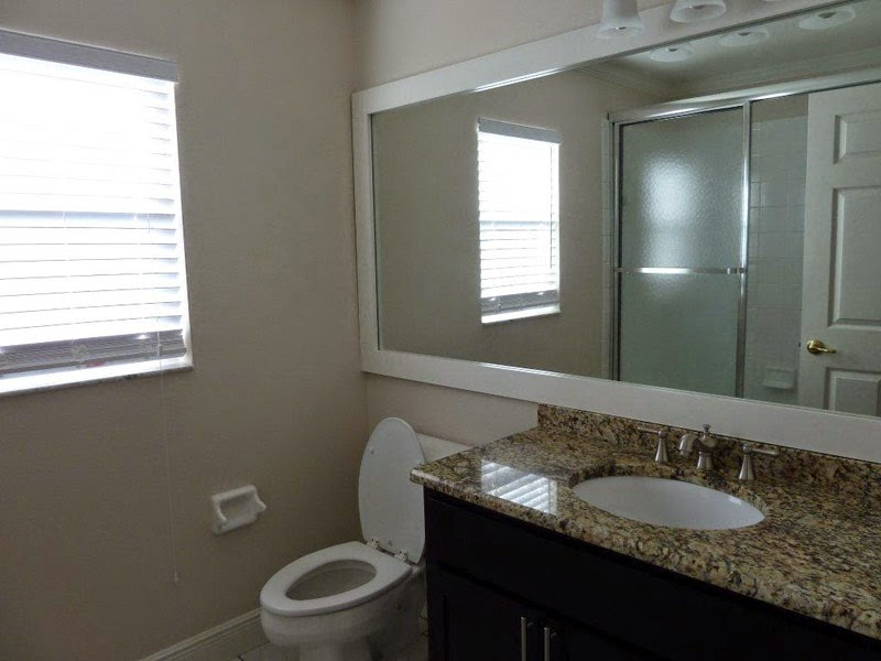 This photo was taken by a realtor that should of known not to take a photo  with the toilet seat up  So that is an easy fix and one that won t happen   My Great Finds  How To Home Stage Your Home For Selling First The  . Things You Need For Your First Bathroom. Home Design Ideas