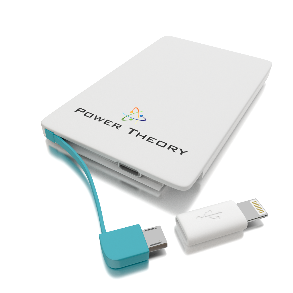 Credit Card-Sized External Battery Charger