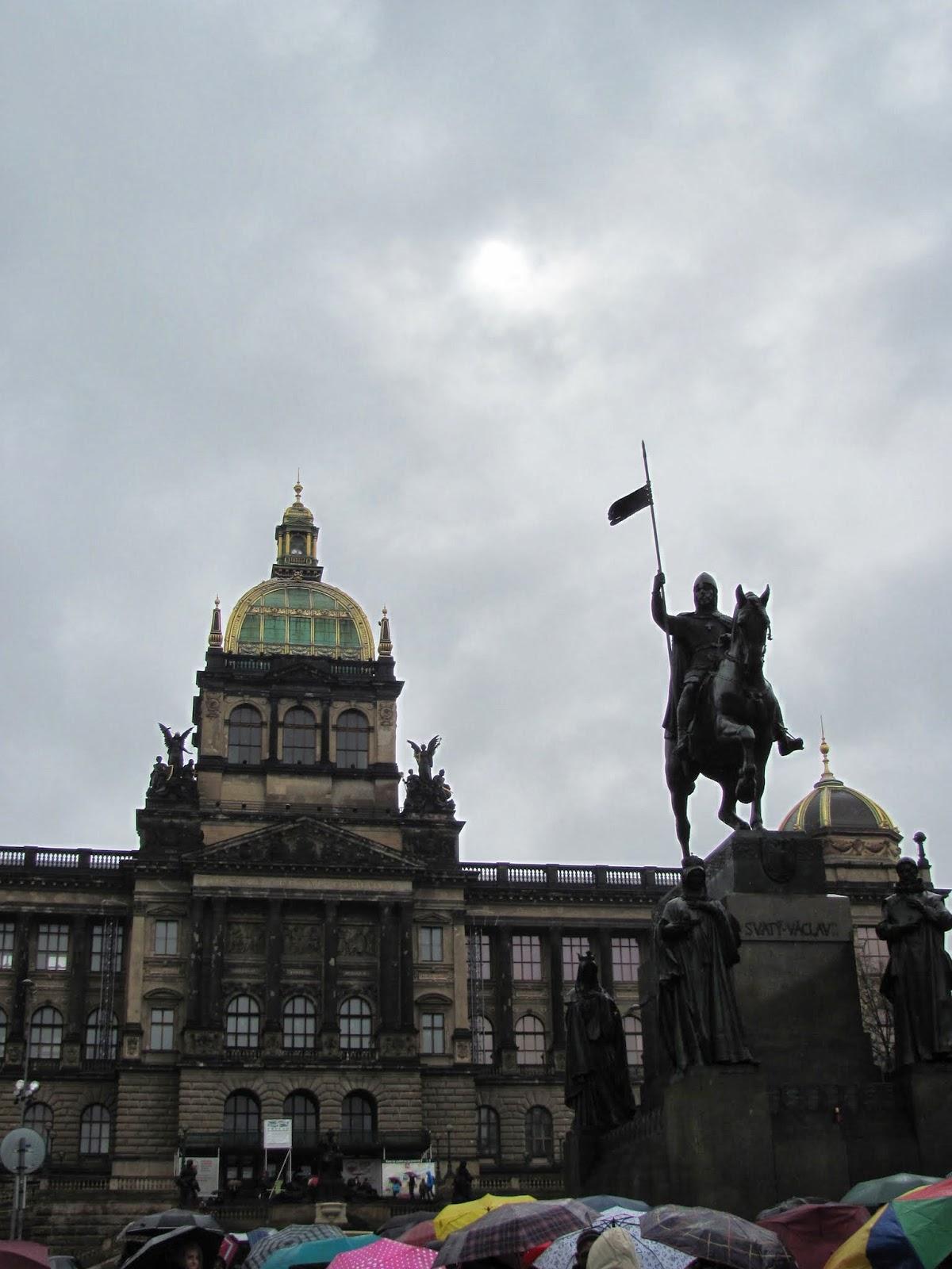St. Wenceslas Statue Prague