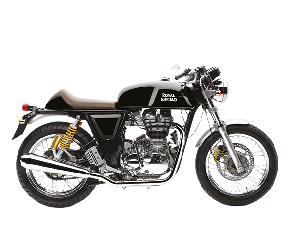 Black royal enfield continental gt
