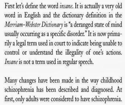Child's Schizophrenia