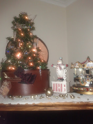 This Small Tree In A Vintage Hatbox Is The Perfect Apartment Tree It