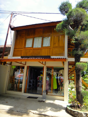 Shop at Gili Trawangan Lombok Island