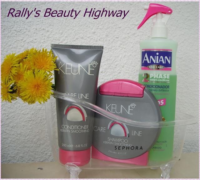 In my mini tub - body and hair care products