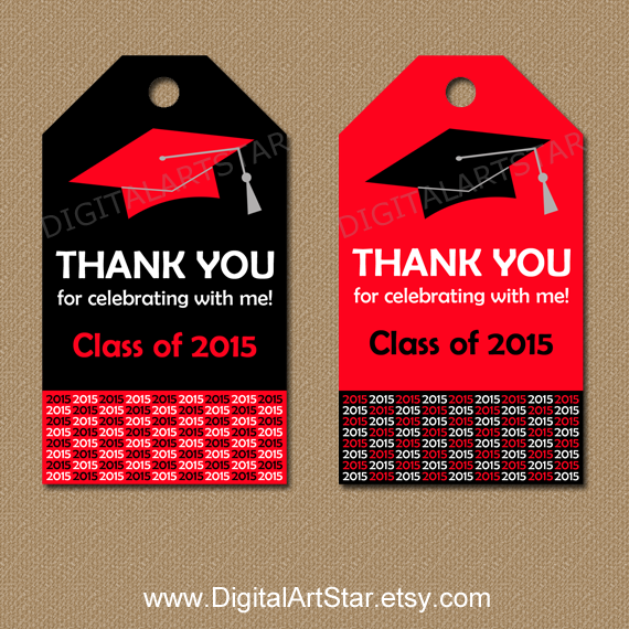 instant download graduation hang tags