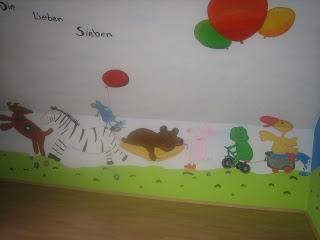 Westenholzer kreativkeller acrylmalerei wandbemalung raumgestaltung - Kinderzimmer wandbemalung ...