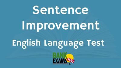 sentence improvement test