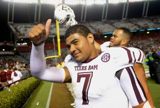 Kenny Hill is an ex-Aggie quarterback.
