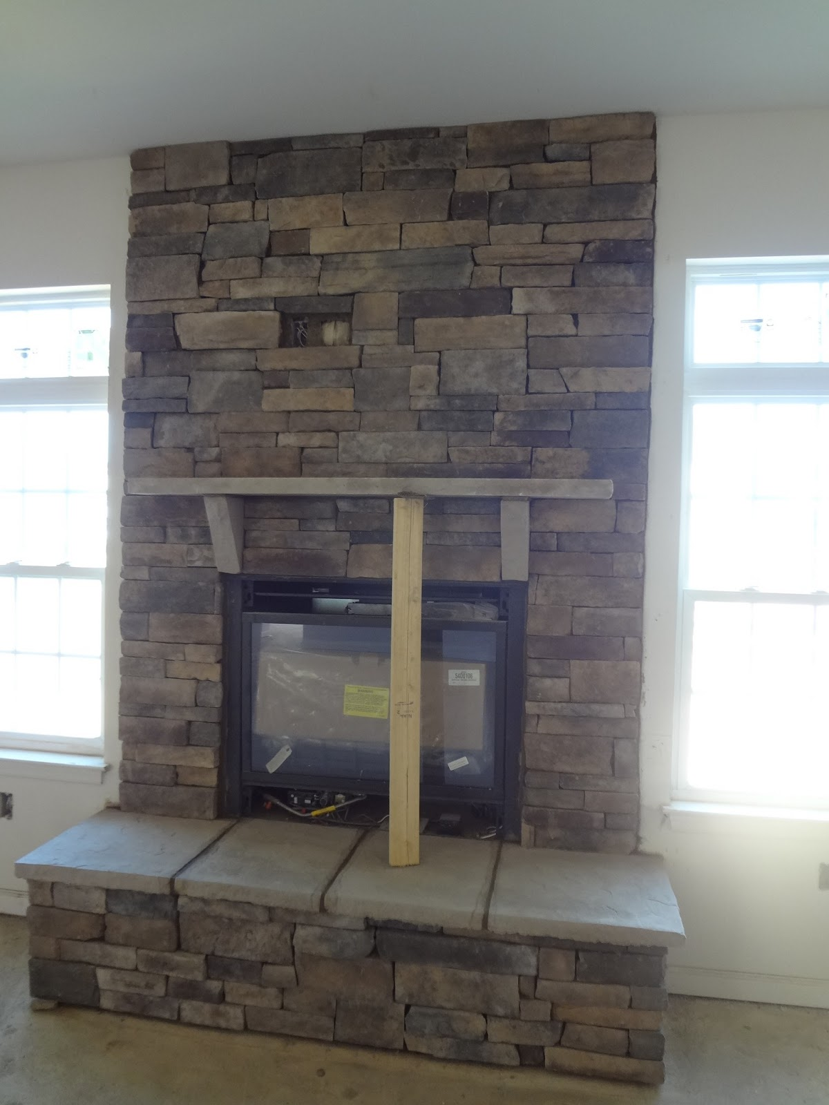 avalon endeavor question for those with the stone fireplace