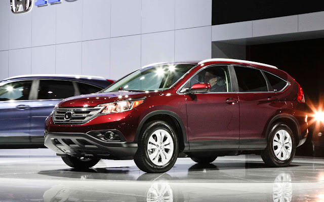 2012 Honda CR-V front view