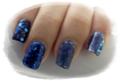 manichiura-degrade-oja-albastra-model-Kleancolor-191-blue-eyed-girl-Leydi-768-essence-98-walk-on-air
