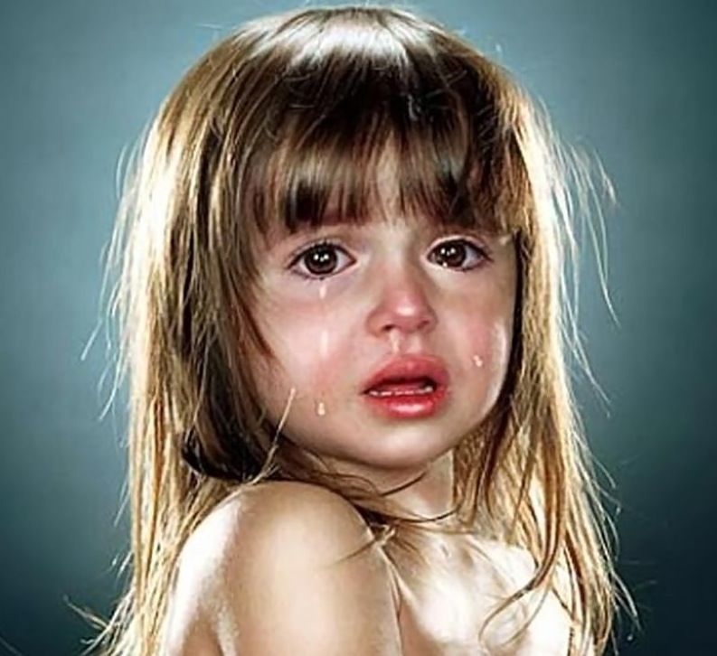 Crying baby girls wallpapers