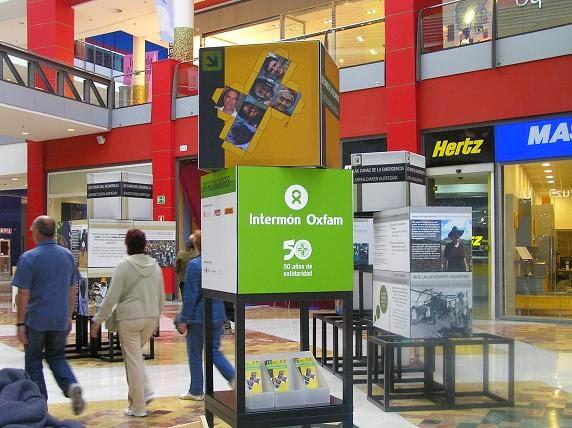 Imagen de la Exposición de Intermón Oxfam