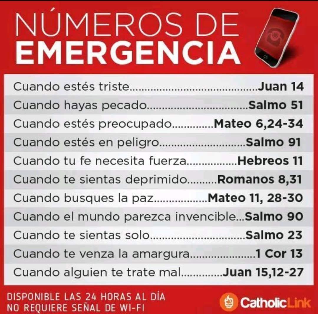 Telèfons d'emergències