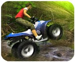 Lái moto vượt rừng, game dua xe