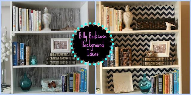Homey Home Design: Billy Bookcase Background Ideas