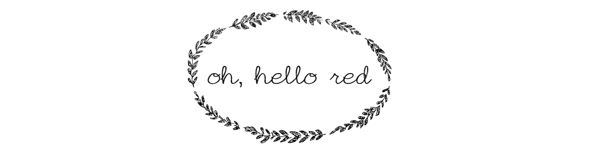 Oh, Hello Red