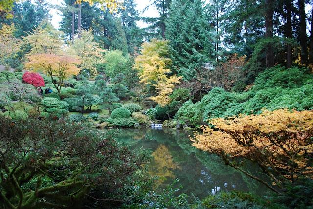 The intercontinental gardener a crowded stroll through - Portland japanese garden free day ...