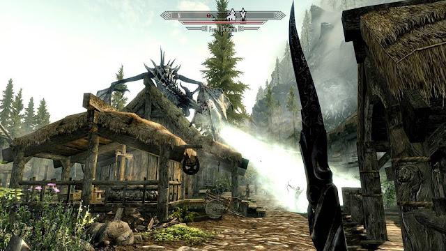 The elder scrolls v: skyrim: скриншоты
