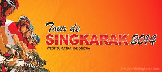 Lomba Balap Sepeda Tour de Singkarak 2014