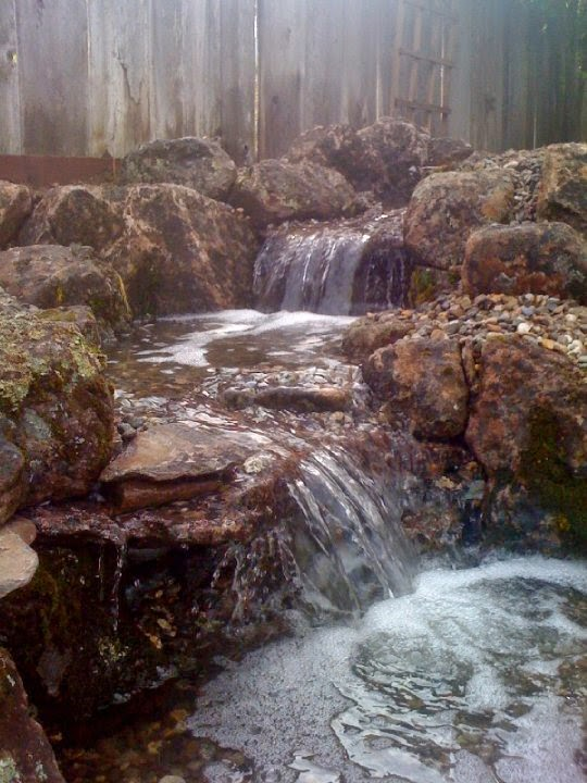 ... guide to building a pondless or vanishing waterfall in your backyard or  garden area. The Pondless waterfall is a great addition to any landscape  design. - Living Waters Landscaping Asheville: How To Build A Pondless Waterfall