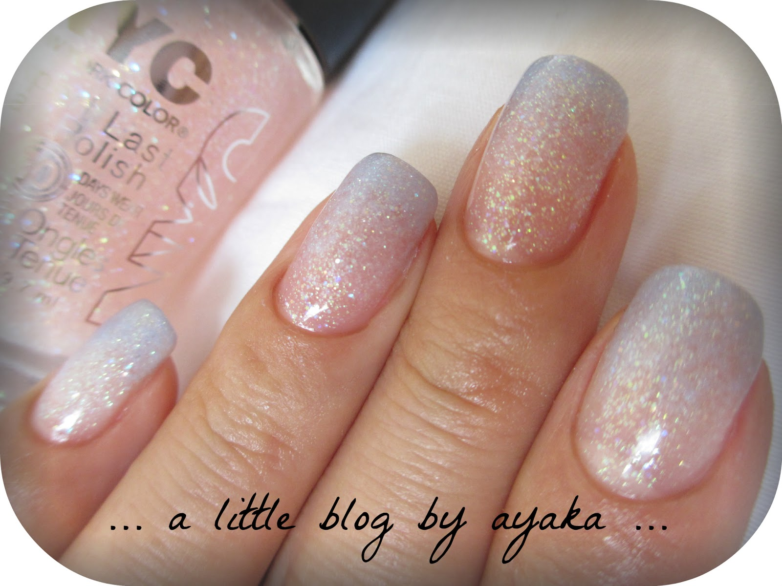 a little blog by ayaka ...: blue ombre nails