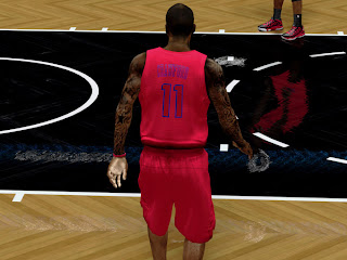 NBA 2K13 L.A. Clippers Christmas Jersey Patch Update