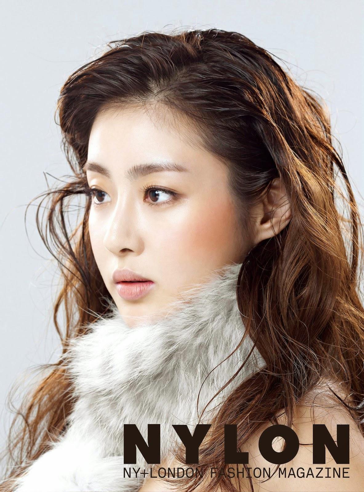 Kang Sora - Nylon Magazine December Issue 2014