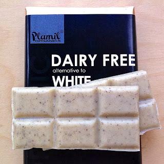 Plamil vegan dairy-free white chocolate