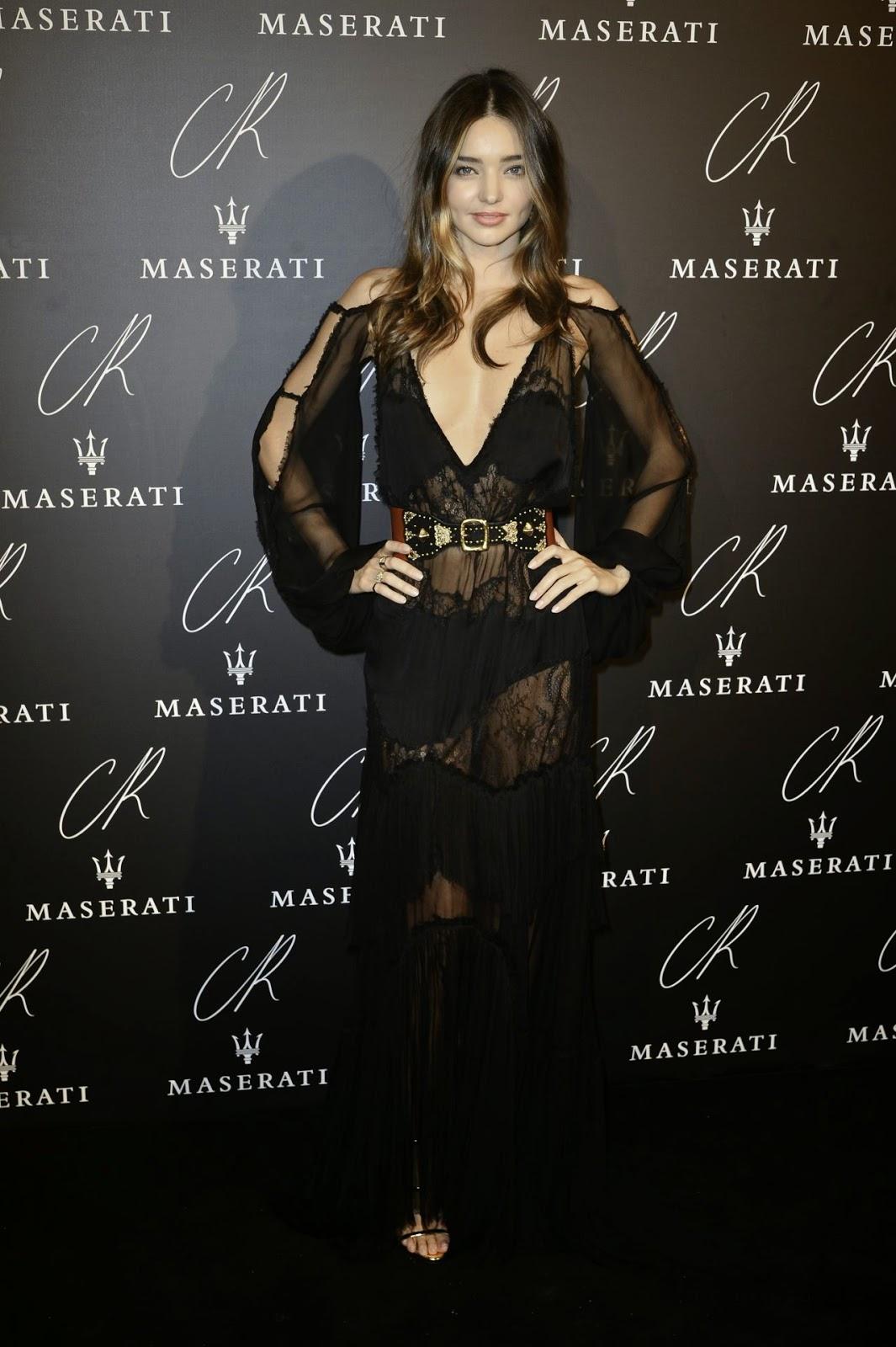 Miranda Kerr stuns in Emilio Pucci at the CR Fashion Book #5 Paris Launch Party