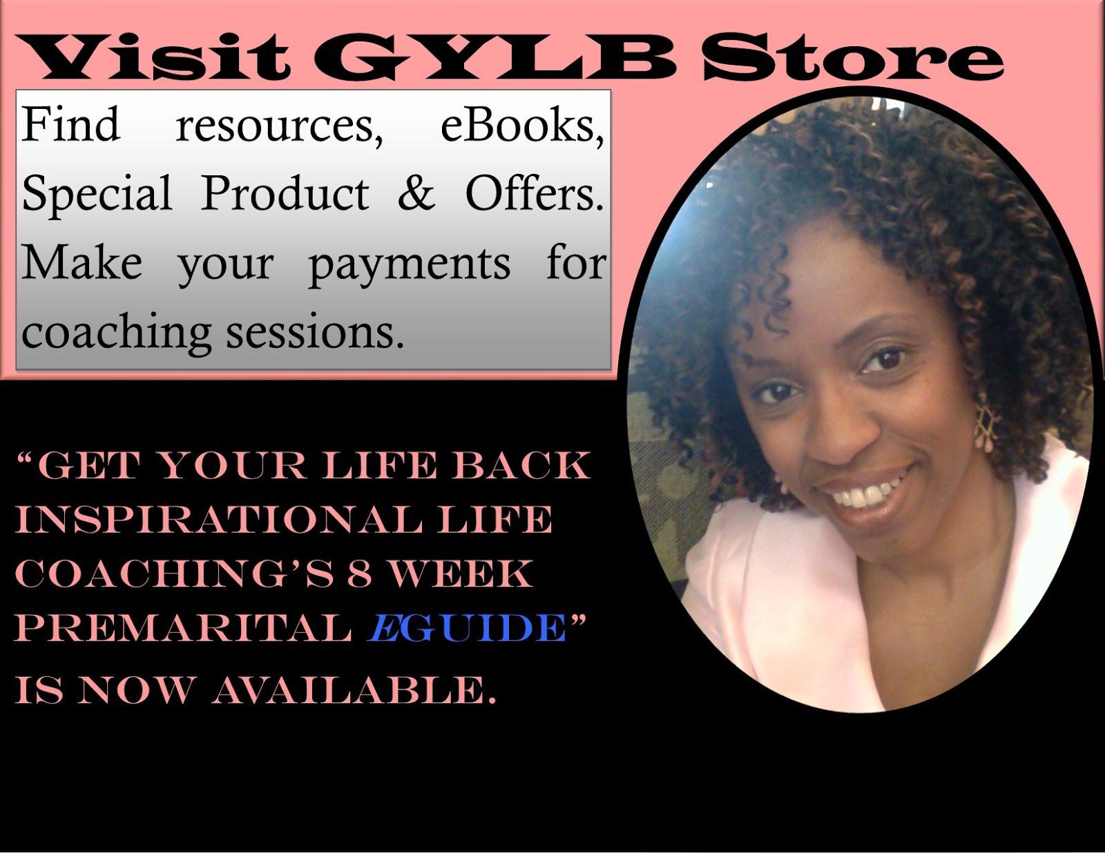 GET YOUR LIFE BACK INSPIRATIONAL LIFE COACHING'S PREMARITAL eBOOK