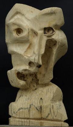 """Sculpture """"le Fada"""" par Batisitn"""