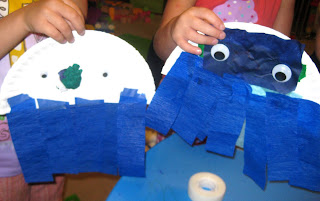 Octopus craft and lesson for preschoolers preschool for Octopus craft for preschool