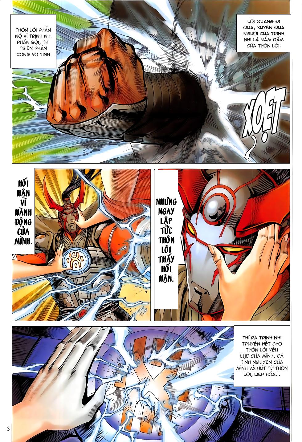 Chiến Phổ chap 20 - Trang 4