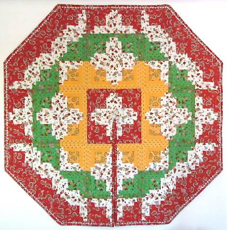 Free Quilt Patterns For Christmas Tree Skirt : Quilt Inspiration: Free pattern day! Christmas Tree skirts